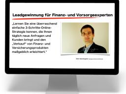 Webinar: Leadgewinnung für Finanz- und Vorsorgeexperten