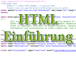 Webinar: HTML - Einführungskurs