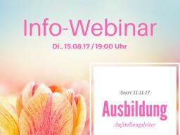 """Webinar: Info-Webinar Masterclass """"Ausbildung Aufstellungsleiter"""""""