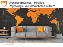 Webinar: Positive Business: Engagement steigern