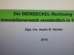 Webinar: Die BIERDECKEL-Rechnung - Immobilienerwerb verständlich in 10 Min.!