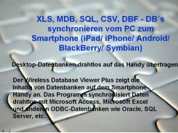 Webinar: Datenbanksynchronisation PC - Smartphone und zurück!