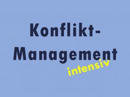 Webinar: Intensiv-Kurs Konfliktmanagement exklusiv für einen Teilnehmer