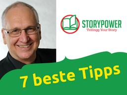 Webinar: 28 Min. für die 7 besten Tipps zum Storytelling im Business