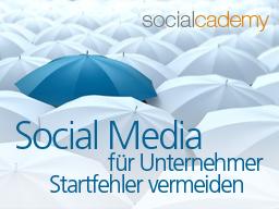 Webinar: Social Media für Unternehmer - Startfehler vermeiden