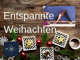 Webinar: Stressfreie Weihnachtsfeiertage mit Yin Yoga