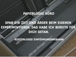 Webinar: Papierloses Büro
