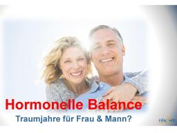 Webinar: Hormonelle Balance, die besten Jahre für Frau & Mann