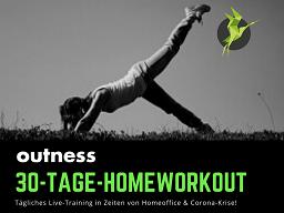 30 Tage - Ganzkörpertraining - Home-Workouts