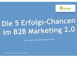 Webinar: Die 5 Erfolgs-Chancen im B2B Marketing 2.0