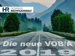 Webinar: Die neue VOB/A 2019