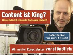 Webinar: Content ist King. So geht´s einfach!