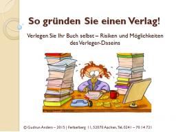Webinar: So gründen Sie einen Verlag
