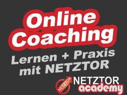 Webinar: ➤ COACHING: Perfektes Lernen + Praxis mit NETZTOR | シ Infos zum Aufbau und Ausbau eines Online-Unternehmens