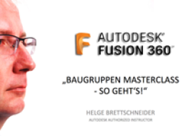 Webinar: Fusion 360: Baugruppen Masterclass -So geht's
