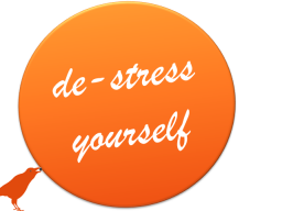 de-stress yourself - 3 Monate Erfolgsteam