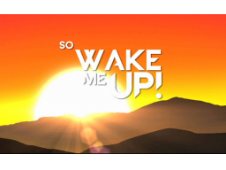 Webinar: Wake UP!