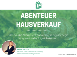 Webinar: Abenteuer Hausverkauf