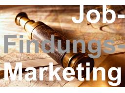 Webinar: JobFindungsMarketing vier / acht