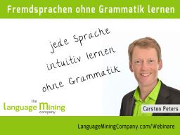 Webinar: Fremdsprachen ohne Grammatik lernen