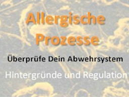 Webinar: Allergien und seine Hintergründe