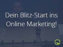 Webinar: Dein Blitzstart ins Online Marketing!