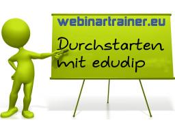 Webinar: Durchstarten mit edudip!