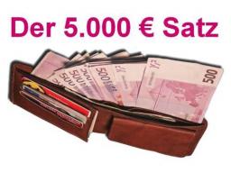 Webinar: Der magische 5.000 Euro Satz !