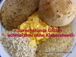 """Webinar: Sprechstunde """"Gluten -schmerzfrei ohne Klebereiweiß?"""""""