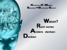 Webinar: Denken - Anders denken - Reich werden - Warum?