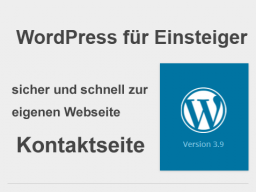 Webinar: Das Kontaktformular für die WordPress Webseite