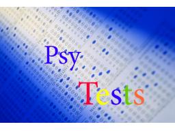 Webinar: Psychologische Tests - Einführungswebinar