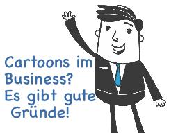 Webinar: Cartoons im Business? - Es gibt sehr gute Gründe dafür!