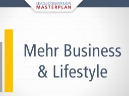 Webinar: Die 4 Säulen eines hochkonvertierenden Marketing Funnels für mehr Business & Lifestyle