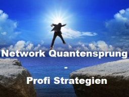 Webinar: Network Quantensprung - GRATIS