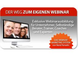 """Webinar: """"Der Weg zum eigenen Webinar"""""""
