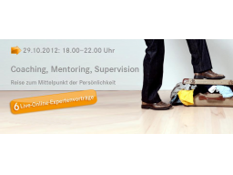 Webinar: Live Online Kongress Coaching, Mentoring, Supervision. Reise zum Mittelpunkt der Persönlichkeit!