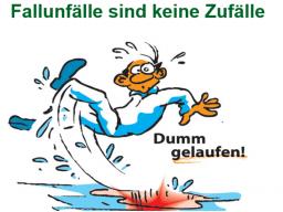 Webinar: Arbeitsschutz AKTUELL. Thema: stolpern , rutschen ,stürzen