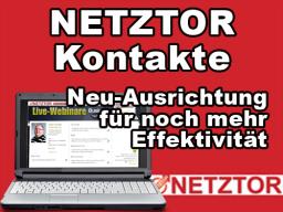 Webinar: NETZTOR: Knapp 2.500 Kontakte in einem perfekten Netzwerk