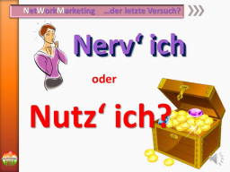 Webinar: NWM  -  NERV' ich oder NUTZ' ich?