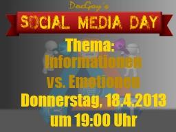 Webinar: Social-Media-Day April