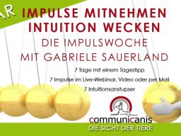 Webinar: Impulswoche mit Gabriele Sauerland | Intuition & Impulse
