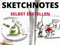 Webinar: Sketchnotes aus dem Alltag im Business nutzen