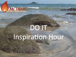 Webinar: DO IT Inspiration Hour
