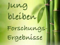 Webinar: Jung bleiben - Forschungsergebnisse
