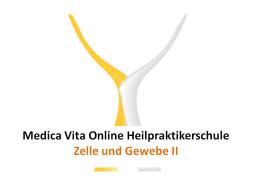 Webinar: Zelle und Gewebe II