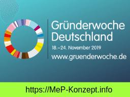 Webinar: Gründerwoche Erfolg dank Ausdauer