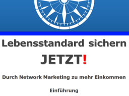 "Webinar: ""Lebensstandard sichern-JETZT!"""