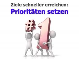 Webinar: Ziele schneller erreichen: Prioritäten setzen
