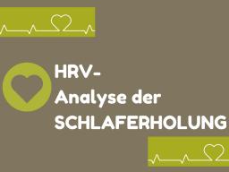 Webinar: HRV: Analyse der SCHLAFERHOLUNG